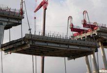Campata smontaggio Ponte morandi-demolizione-fase 2