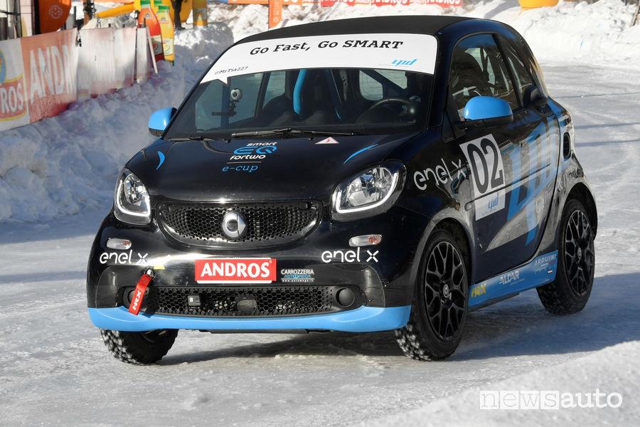Guida su ghiaccio smart elettrica da corsa