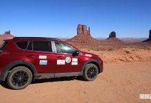 Viaggio in Arizona in auto