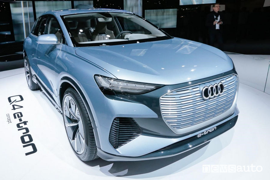 Concept Ginevra 2019 Audi Q4 e-tron