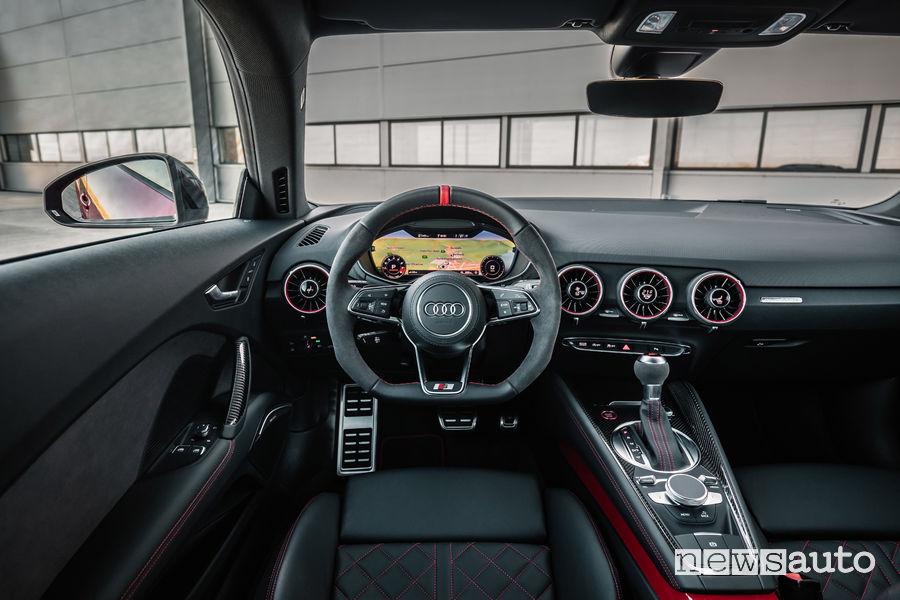 Audi TTS Coupé, plancia strumenti