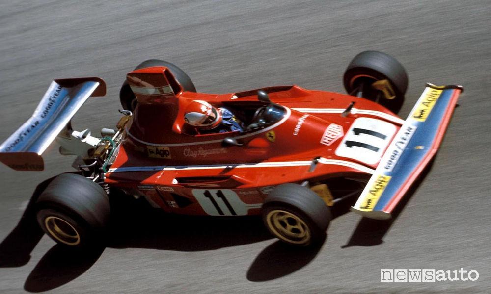 Clay Ragazzoni sulla Ferrari F1