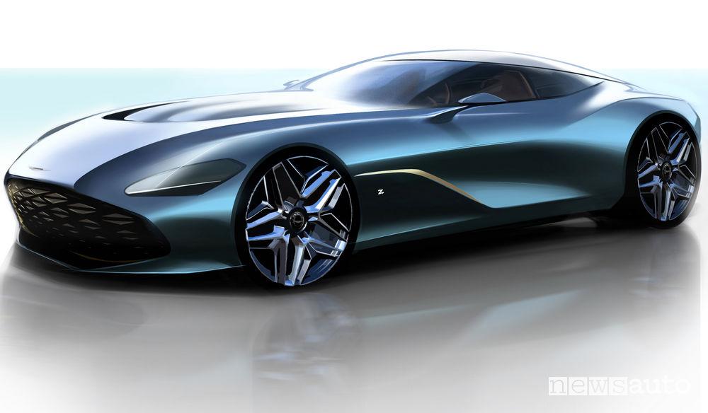 DBS GT Zagato vista di profilo