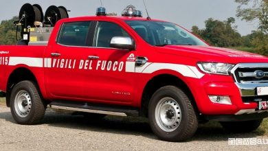 Photo of Auto Vigili del Fuoco, nuovo Ford Ranger pick-up 4×4