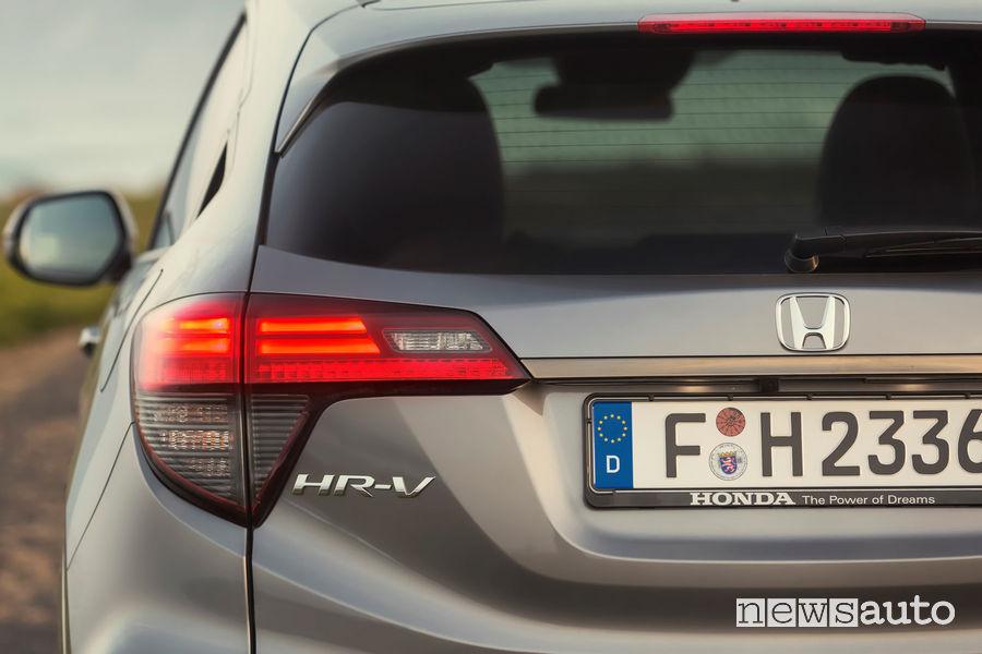 Honda HR-V 2019, posteriore