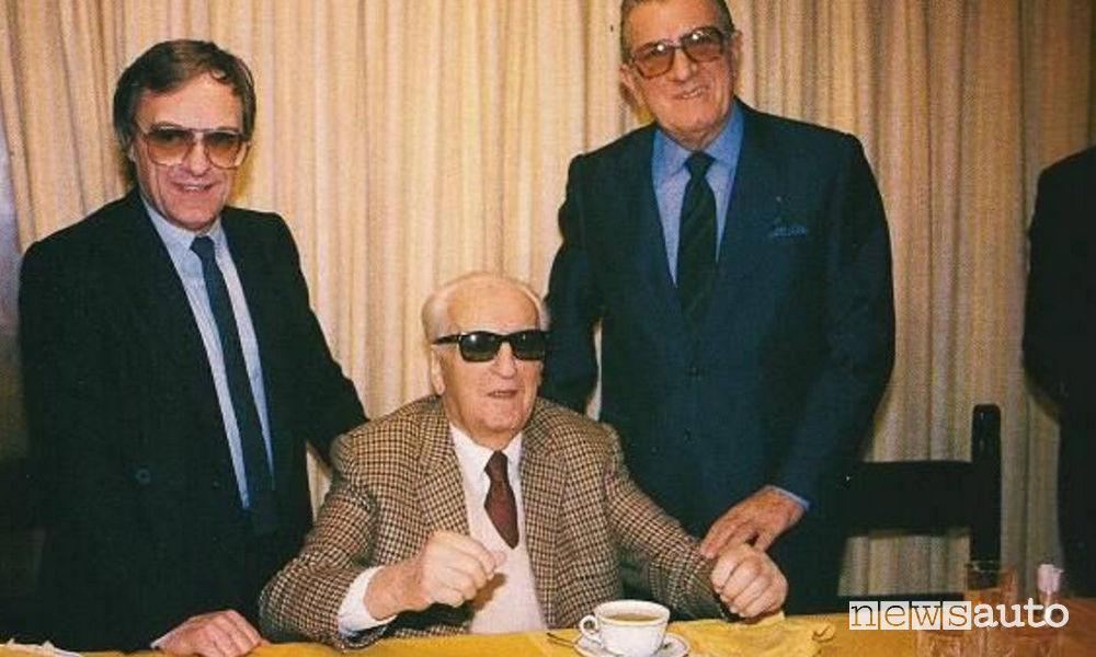 Jean Marie Balestre Enzo Ferrari e Bernie Ecclestone