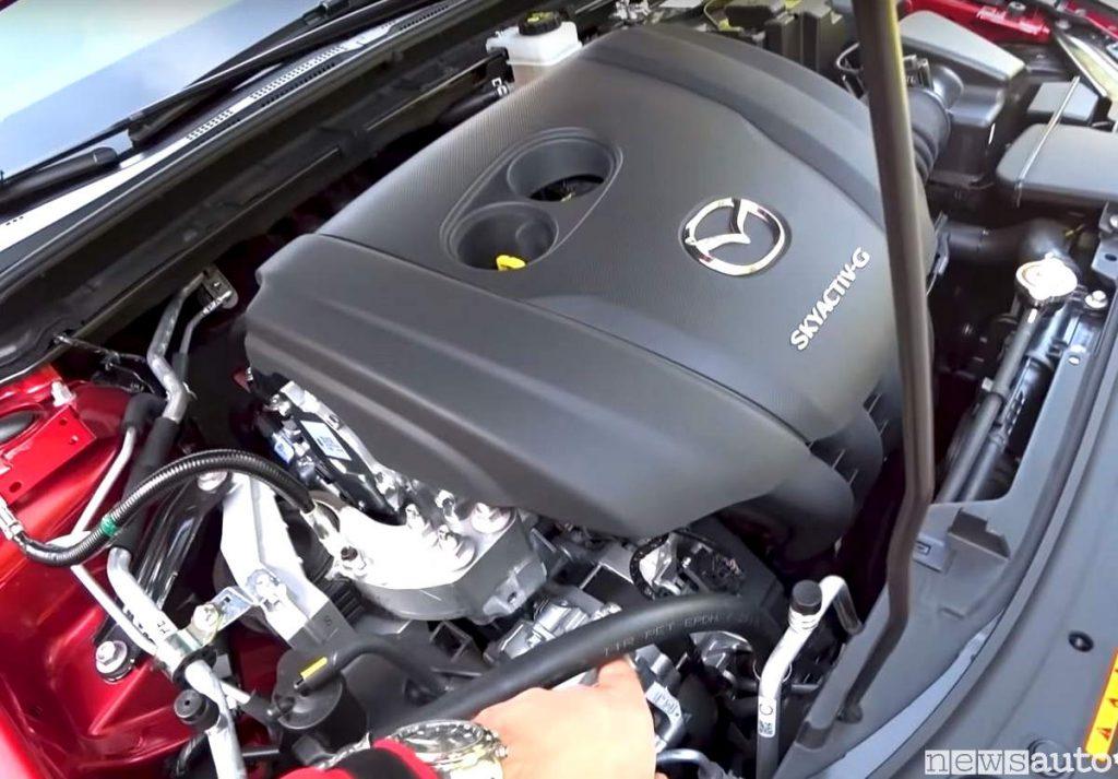 Motore Mazda skyactiv-G mild-hybrid