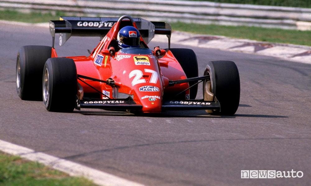 Patrick Tambay sulla Ferrari F1 n° 27