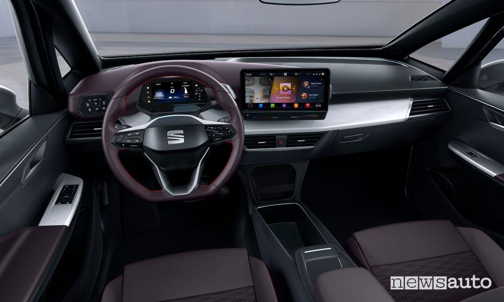 Seat el-Born concept, plancia strumenti