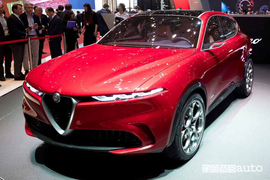 Alfa Romeo Tonale Car Design Award 2019 Concept Cars