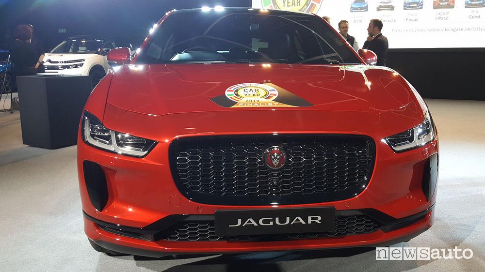 Auto dell'Anno 2019, 1° posto Jaguar I-Pace
