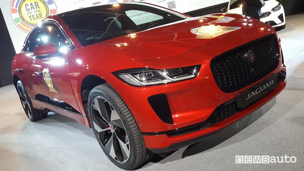 Auto dell'Anno 2019 1° posto Jaguar I-Pace