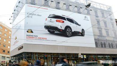 Photo of SUV Citroën C5 Aircross nei luoghi simbolo di Milano