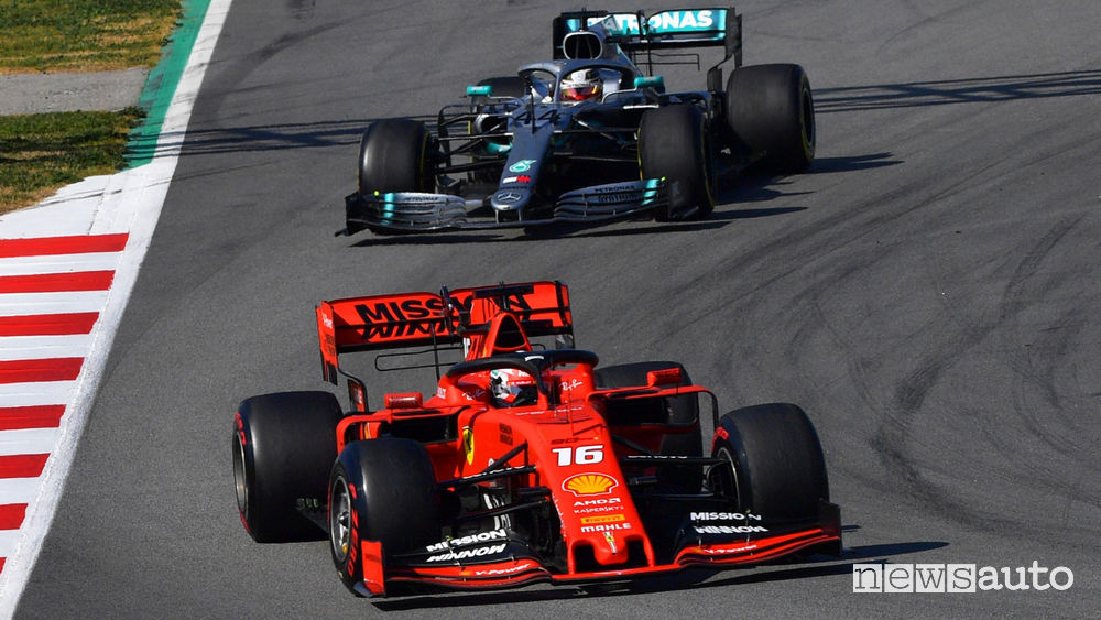 Charles Leclerc Ferrari f1 2019