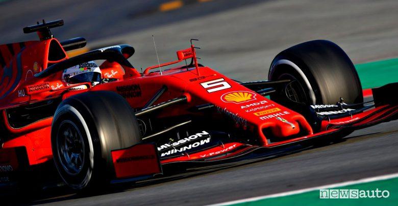 Punteggio Formula 1 2019