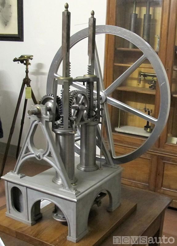 Il primo motore a scoppio fu inventato a Firenze nel 1853