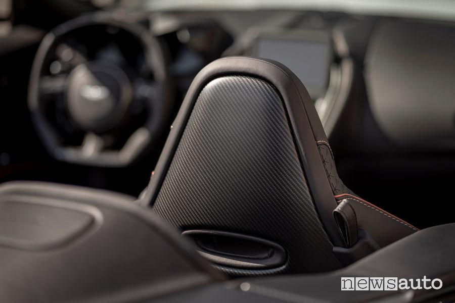 Fibra di carbonio abitacolo Aston Martin DBS Superleggera Volante