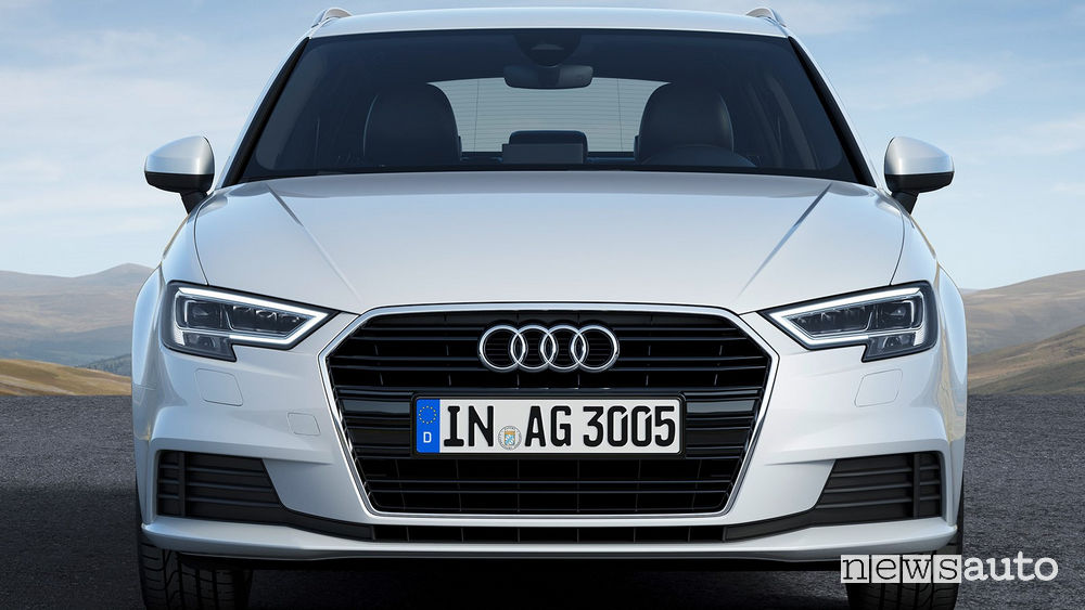 Audi A3 Sportback g-tron frontale
