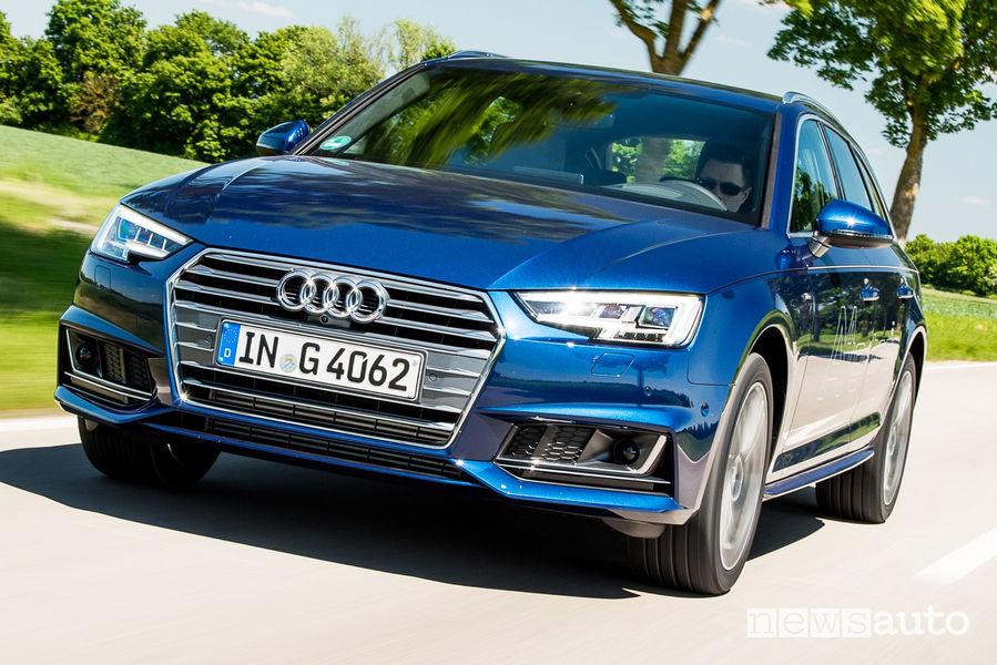 Audi A4 Avant g-tron vista frontale