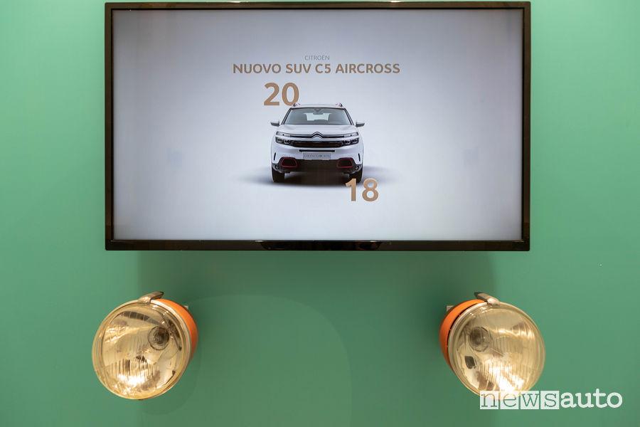 La Maison di Citroën alla Milano Design Week 2019 fari 2CV