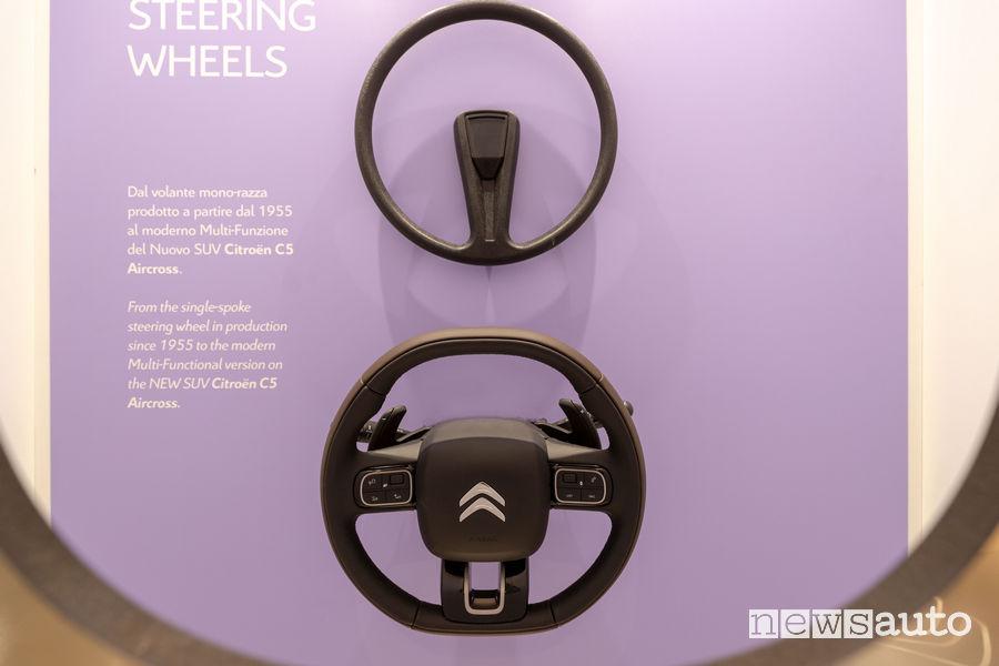 La Maison di Citroën alla Milano Design Week 2019 dal volante mono-razza a quello Multi-Funzione