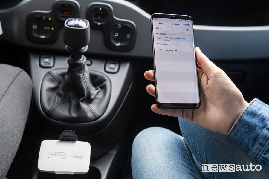 Fiat Connected by Wind router wi-fi
