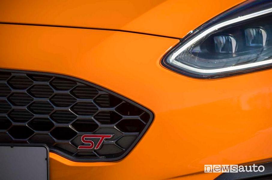 Ford Fiesta ST Performance Edition dettagli del frontale