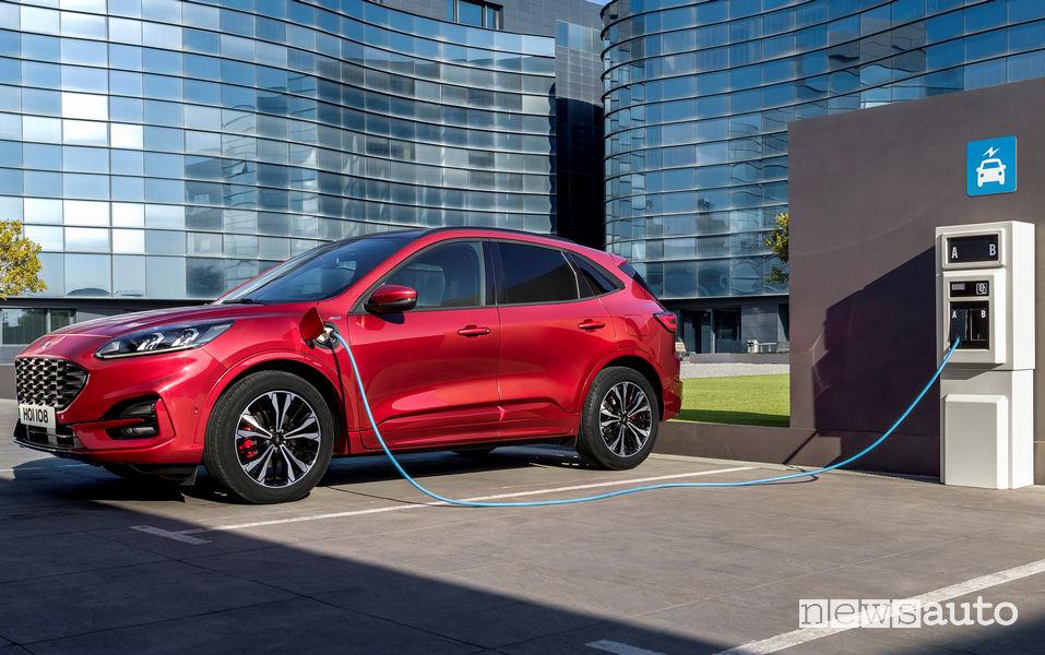 Ford Kuga 2019 ST Line Plug-In Hybrid ricarica