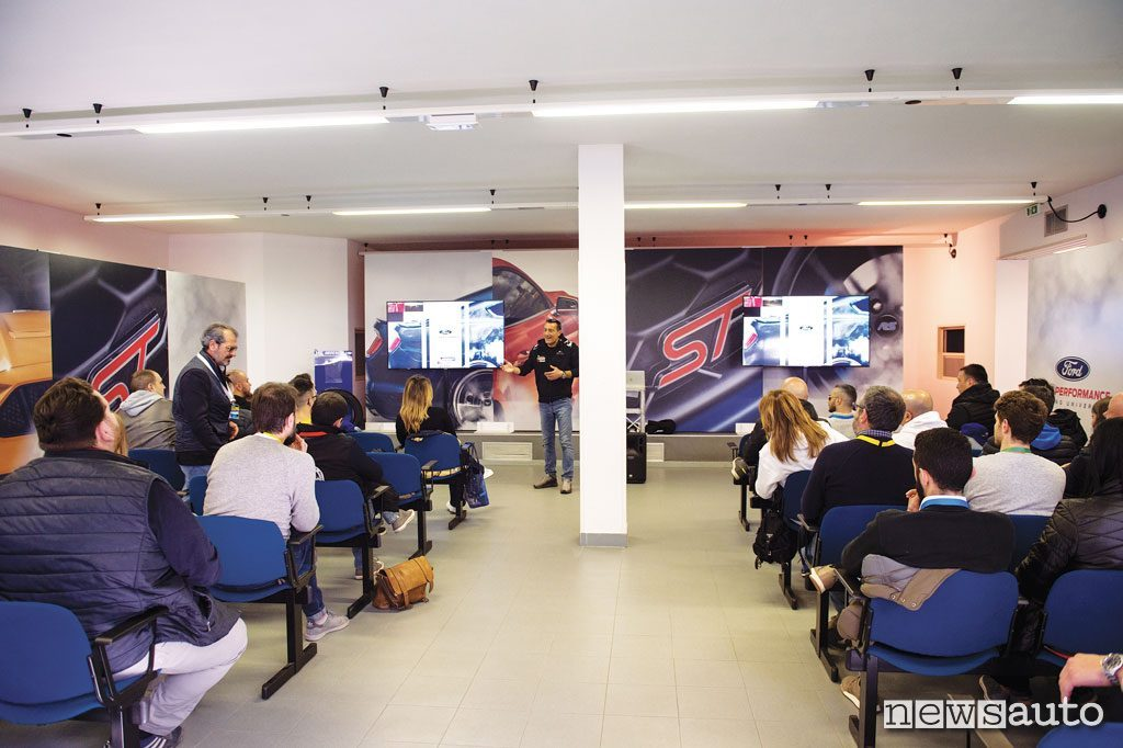 Ford Performance Driving University Teoria