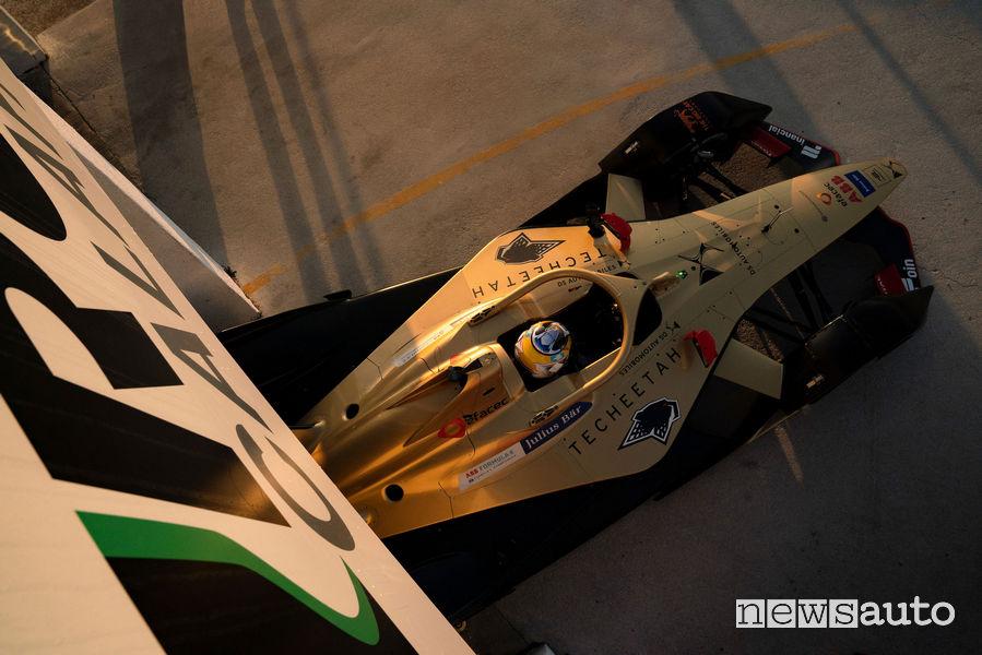 DS Formula E test pista Calafat Spagna
