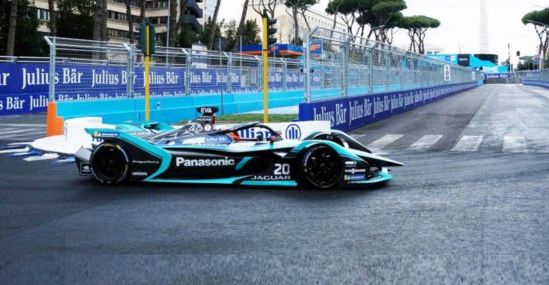 Jaguar_Mitchell Evans-eprix_roma_Formula_E winner vincitore