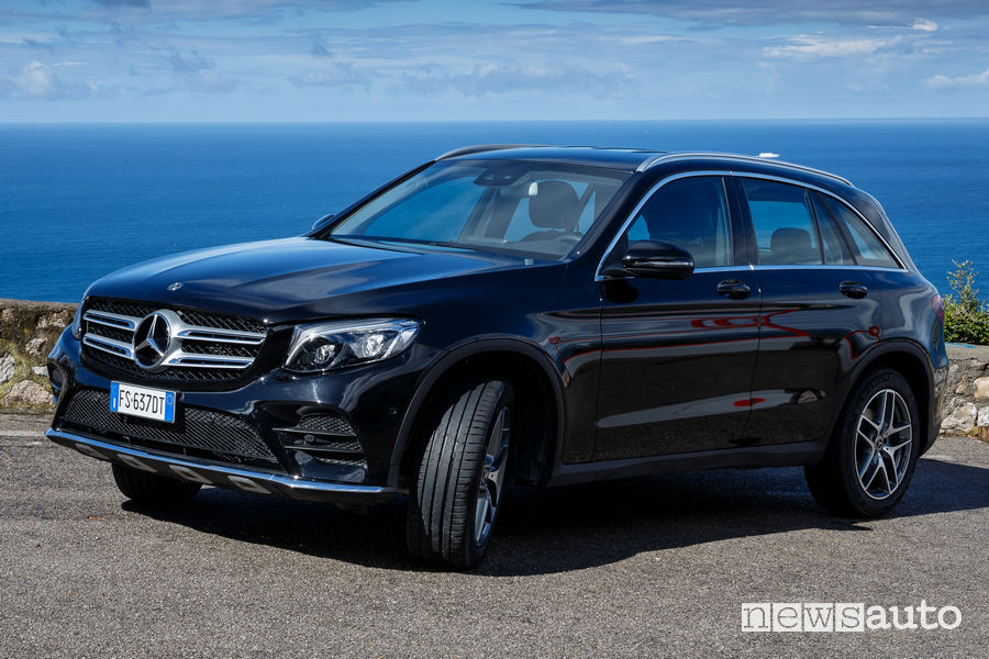Test Michelin Pilot Sport 4 SUV su Mercedes-Benz GLC 350 e in Costiera Amalfitana