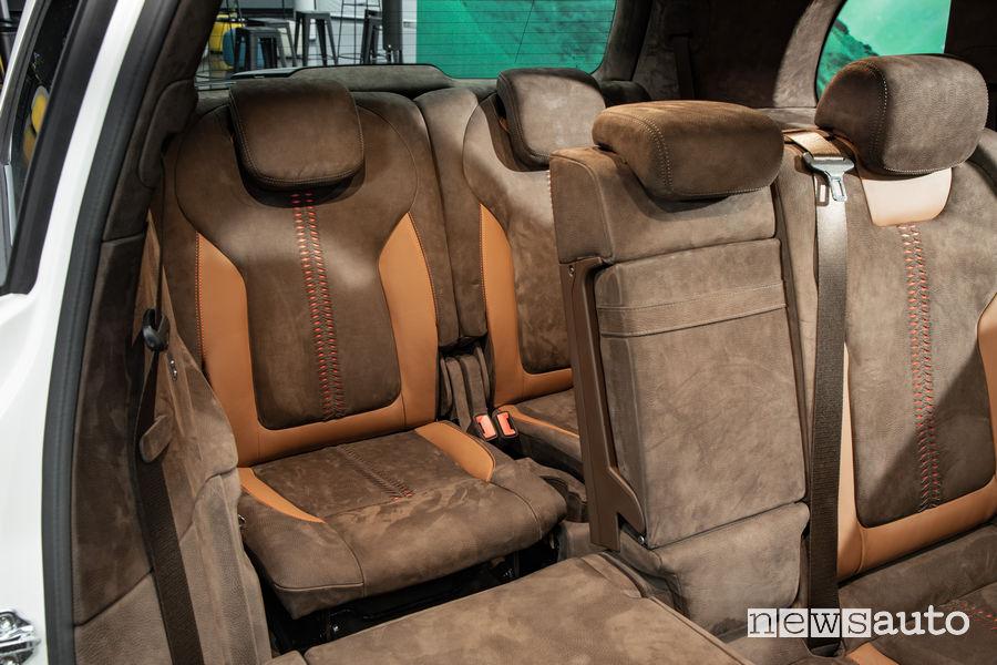 Mercedes-Benz Concept GLB sedili posteriori