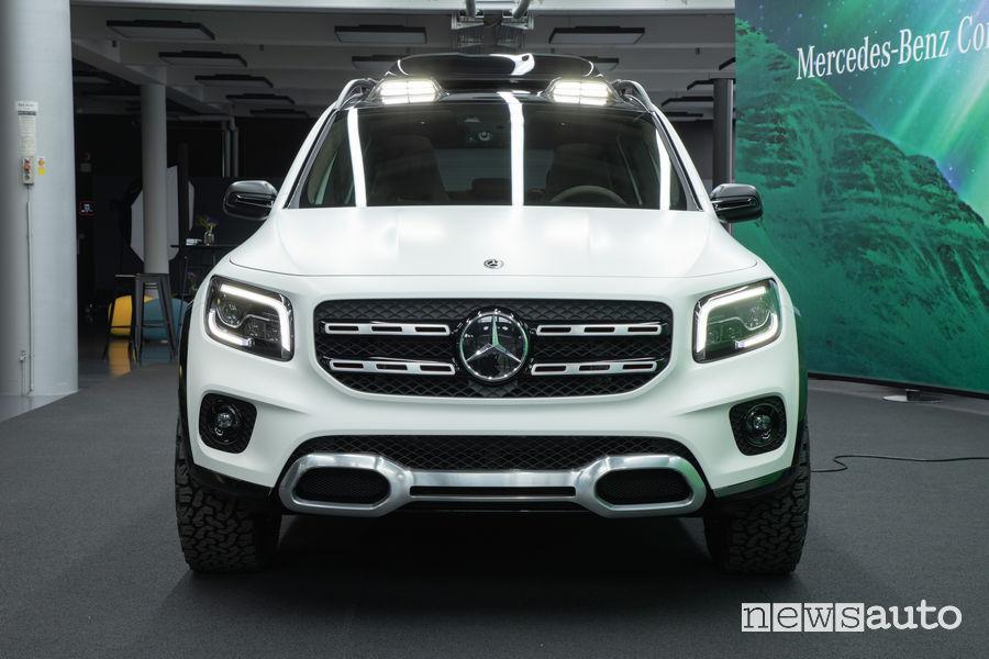 Mercedes-Benz Concept GLB frontale