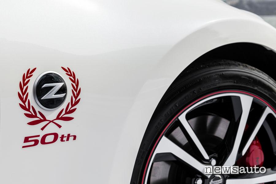 dettaglio Nissan 50 Anniversary Edition 370Z