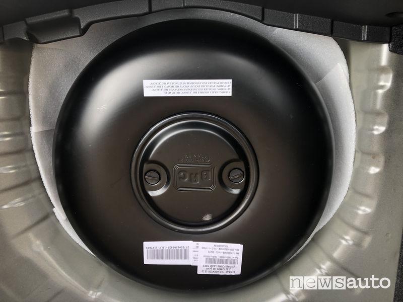 Serbatoio BCR Nissan Micra GPL che scade dopo 10 anni