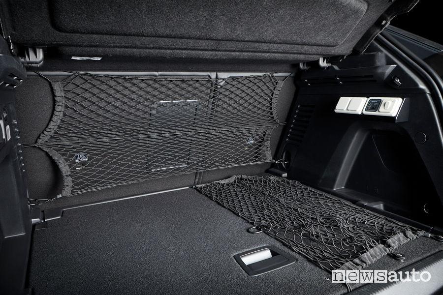 Peugeot 3008 Guardia di Finanza sistema per il trasporto di caschi e scudi