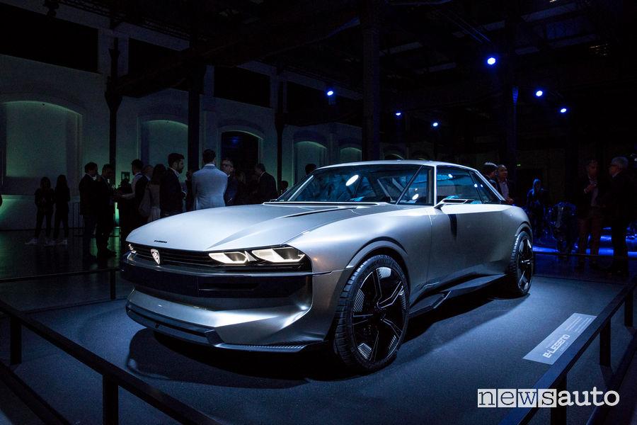 Peugeot alla Milano Design Week 2019 e-Legend Concept