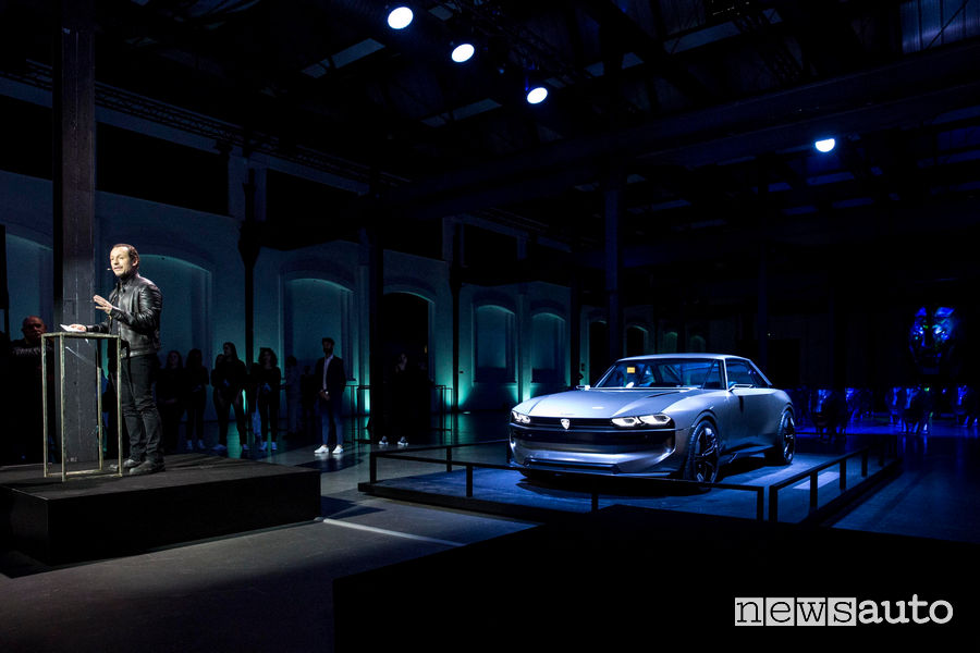 Peugeot alla Milano Design Week 2019, Stefano Accorsi