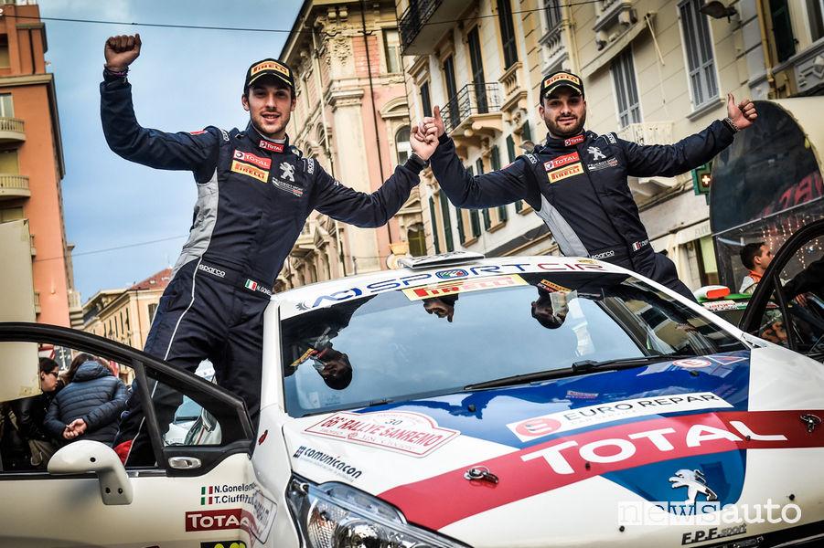 Rally Sanremo 2019 Peugeot 208 R2 Ciuffi/Gonella
