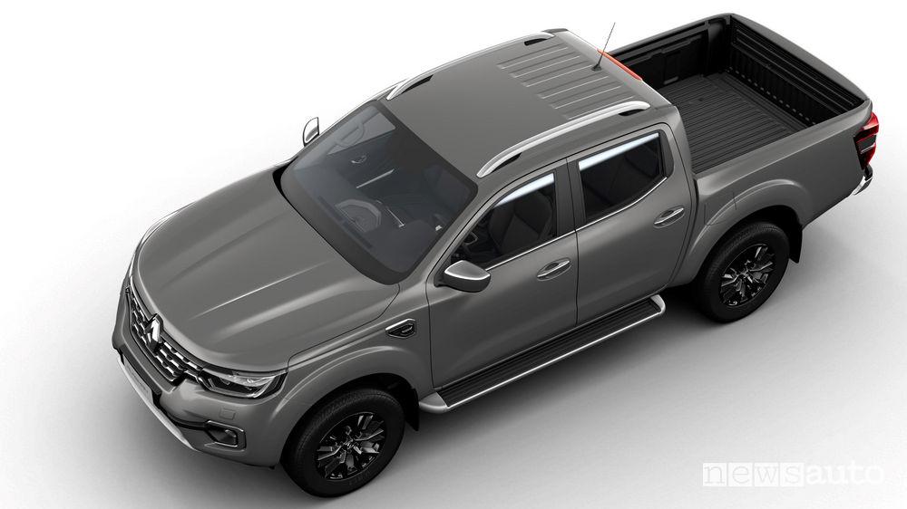 Nuovo Renault Alaskan vista dall'alto