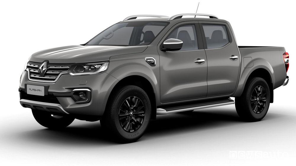 Nuovo Renault Alaskan vista di profilo