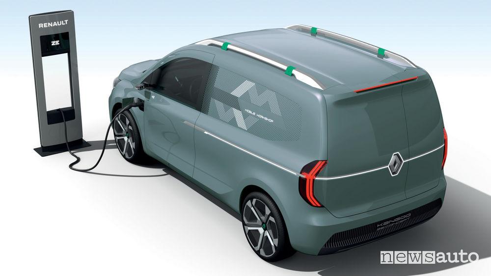 Renault Kangoo Z.E. Concept ricarica