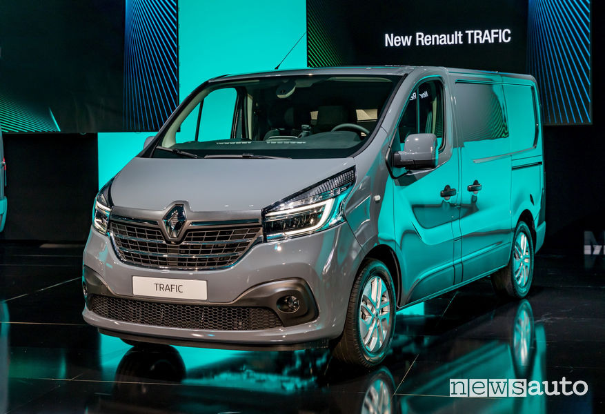 Nuovo Renault Trafic 2019