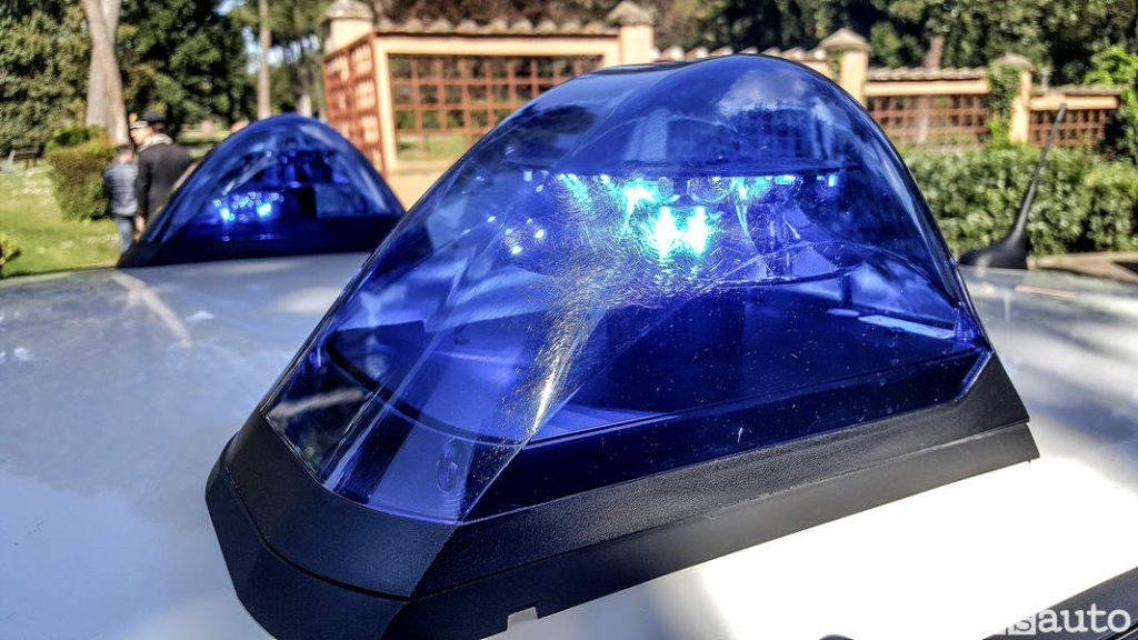 Lampeggiante blu Carabinieri