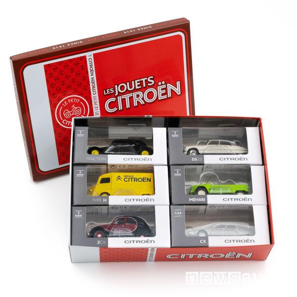 Cofanetto da collezione Citroën Origins