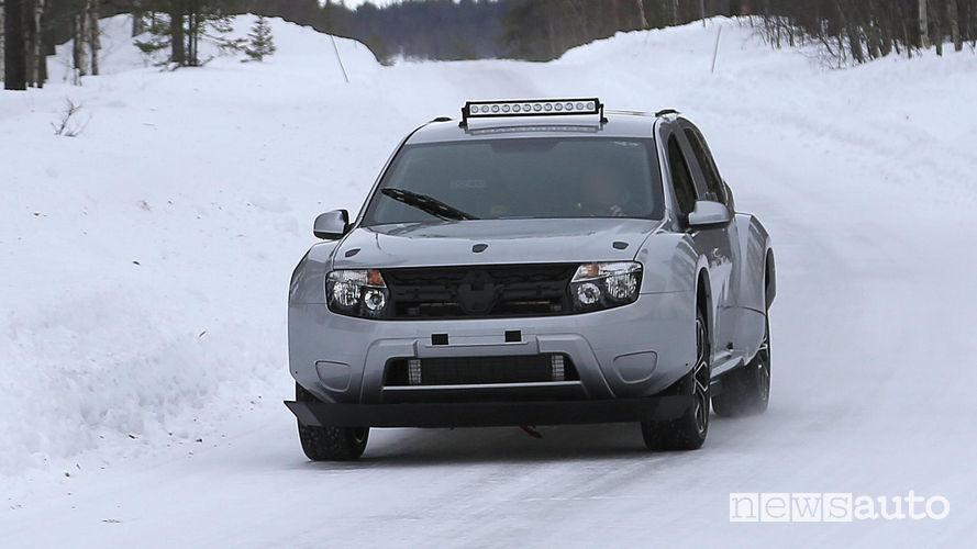 Dacia Duster, auto elettrica da corsa per gare su ghiaccio allargata