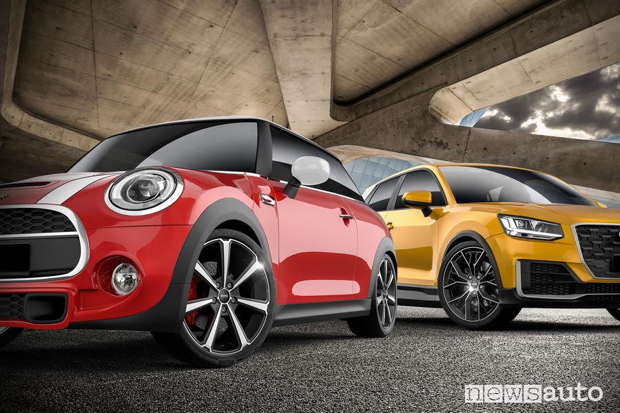 Cerchi in lega Momo hi-tech su Mini ed Audi