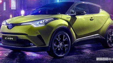 Toyota C-HR, serie limitata Lime Beat del crossover ibrido