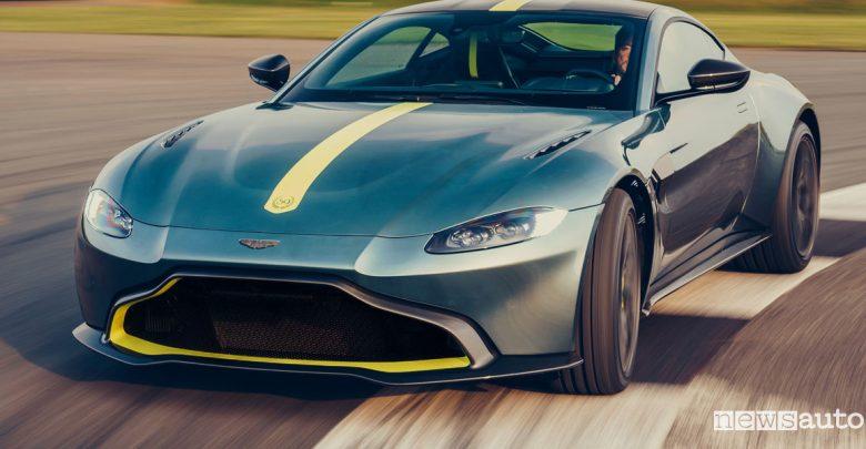Aston Martin Vantage, serie limitata AMR